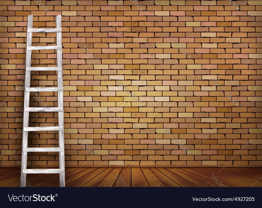 Brick Vector Picture Brick Veneers: How To Cover A Brick Wall With Wood @BY07