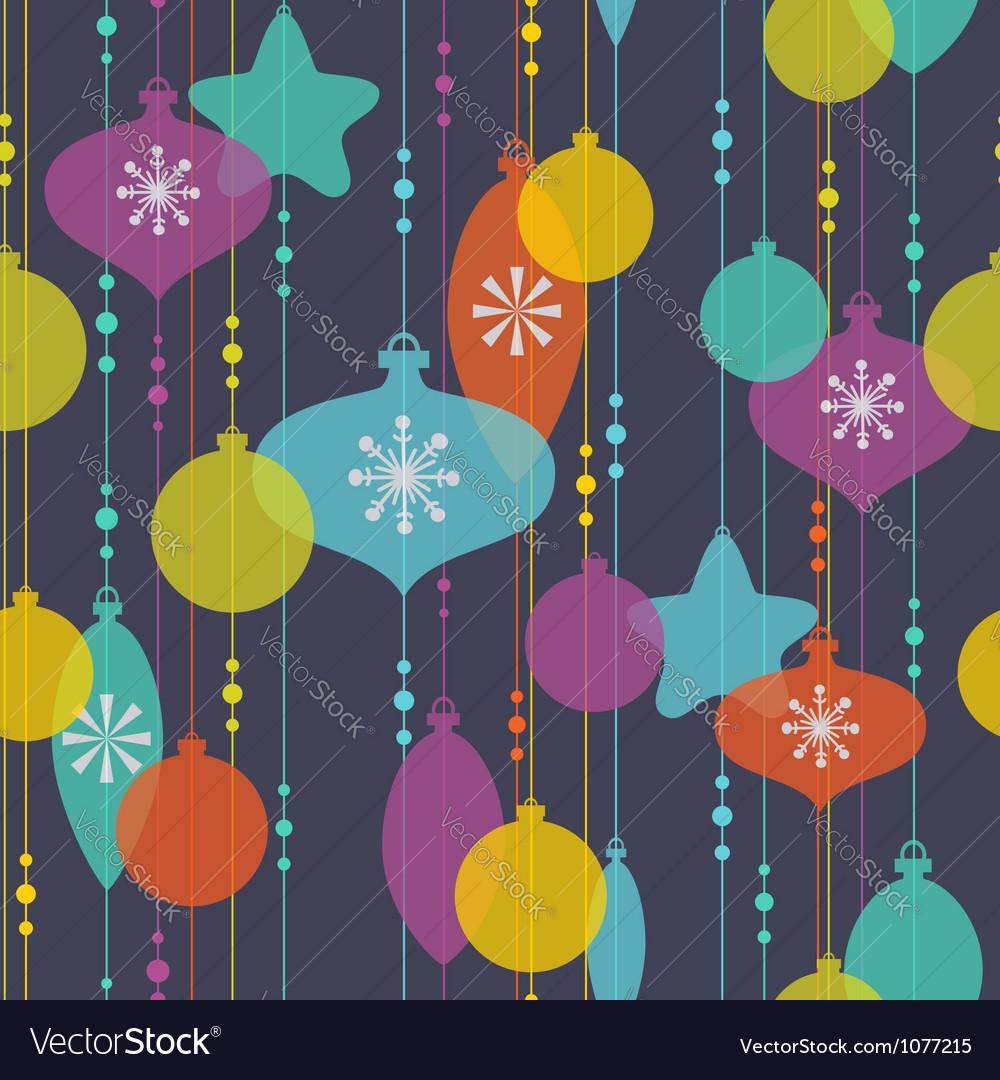 Christmas decoration pattern