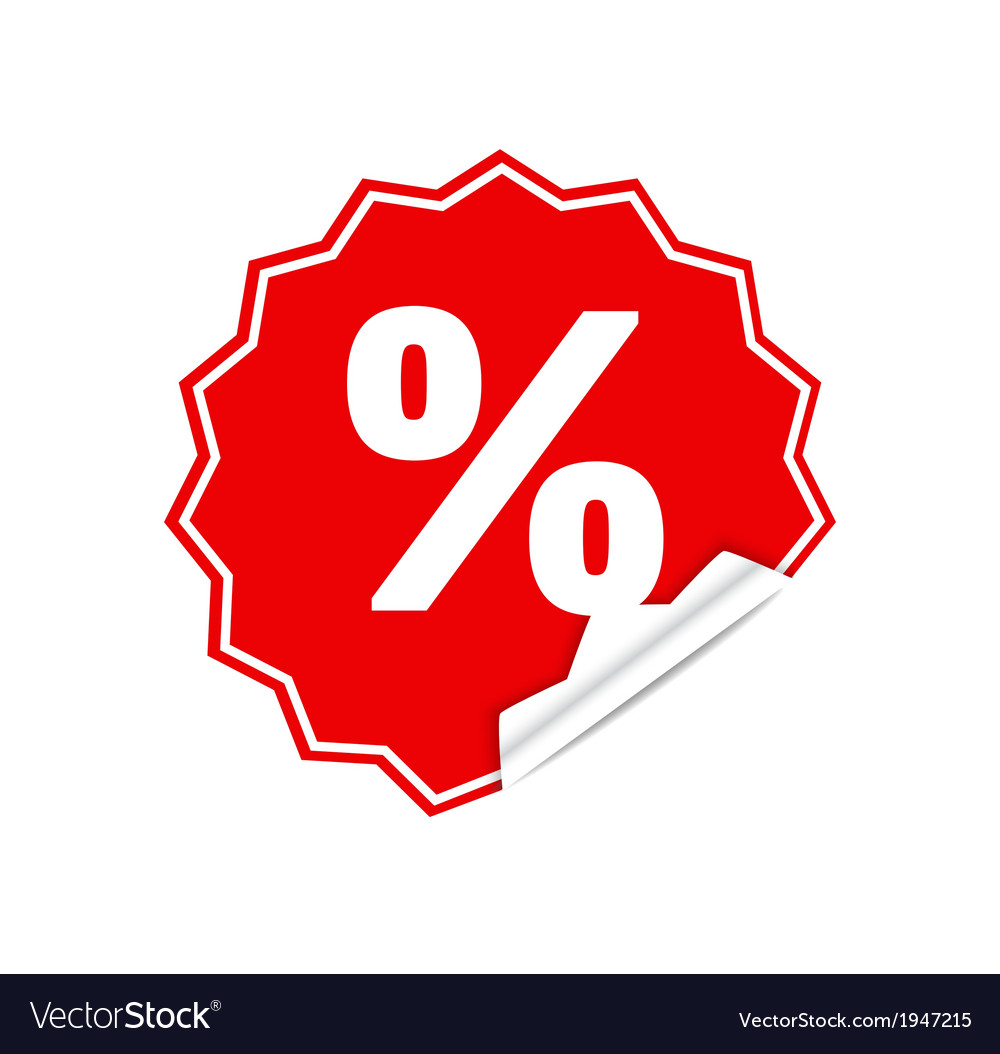 Sticker percent
