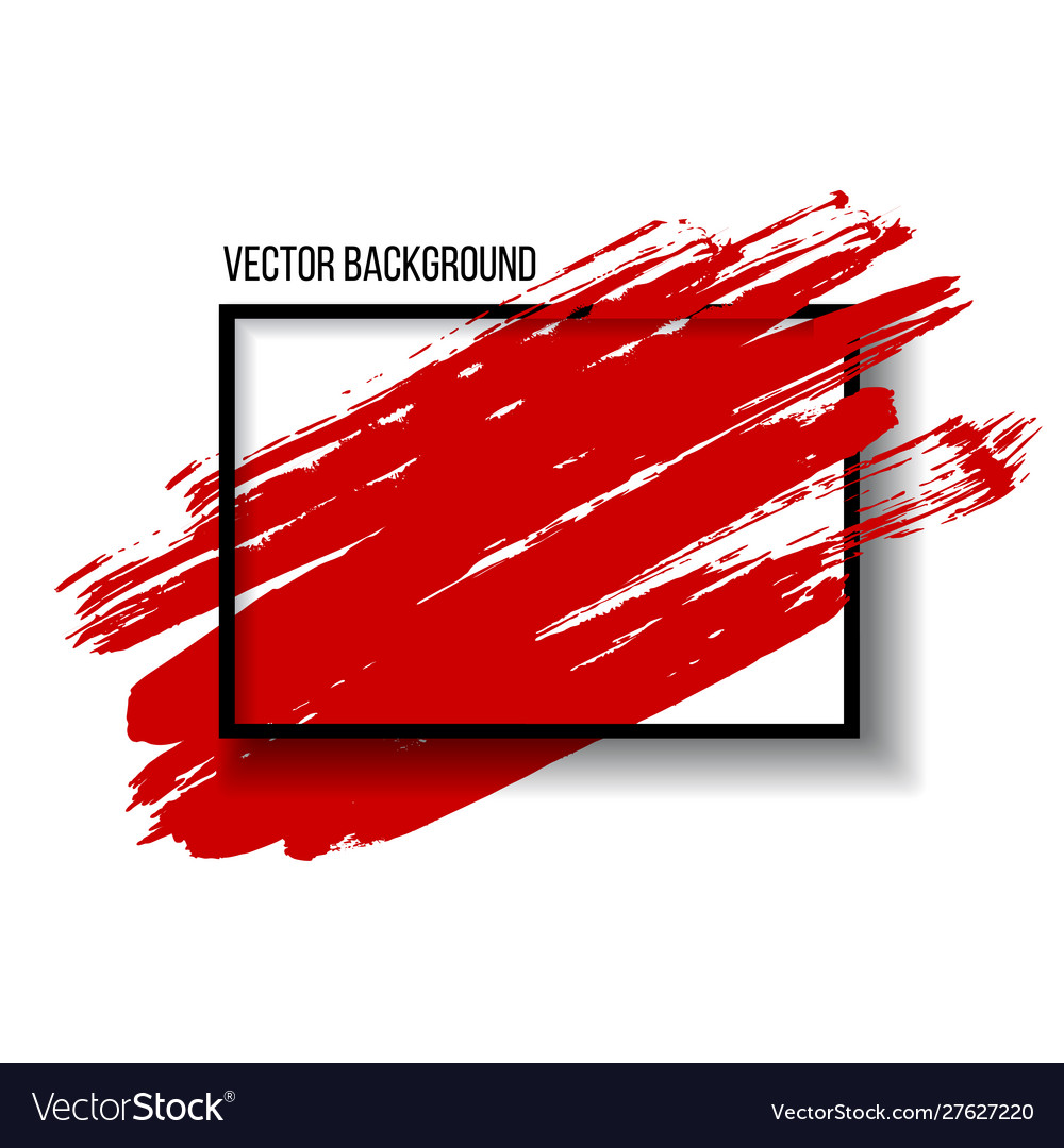 Abstract background design with art brush paint