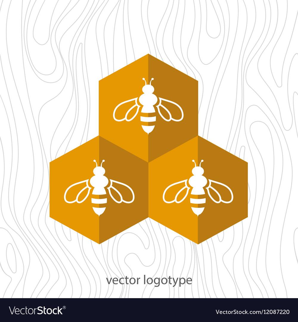 Bee Icon Royalty Free Vector Image Vectorstock