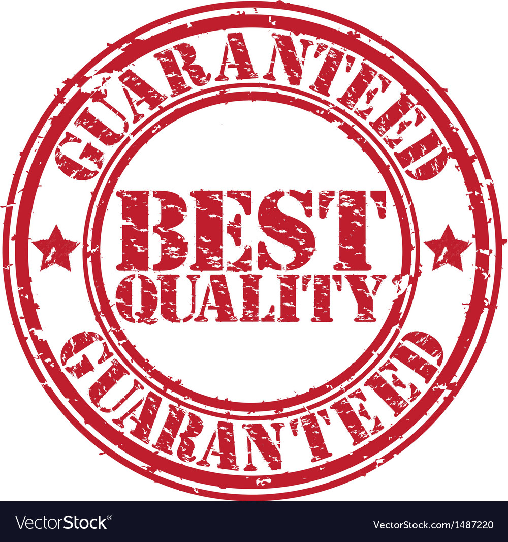 28f3a21245d7 Best quality guaranteed grunge stamp Royalty Free Vector