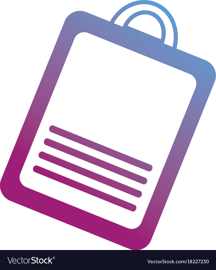 Contour clipboard with check list document