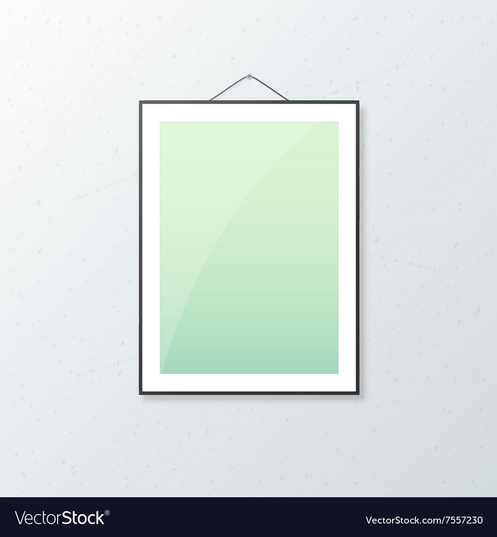 Realistic Poster Mockup