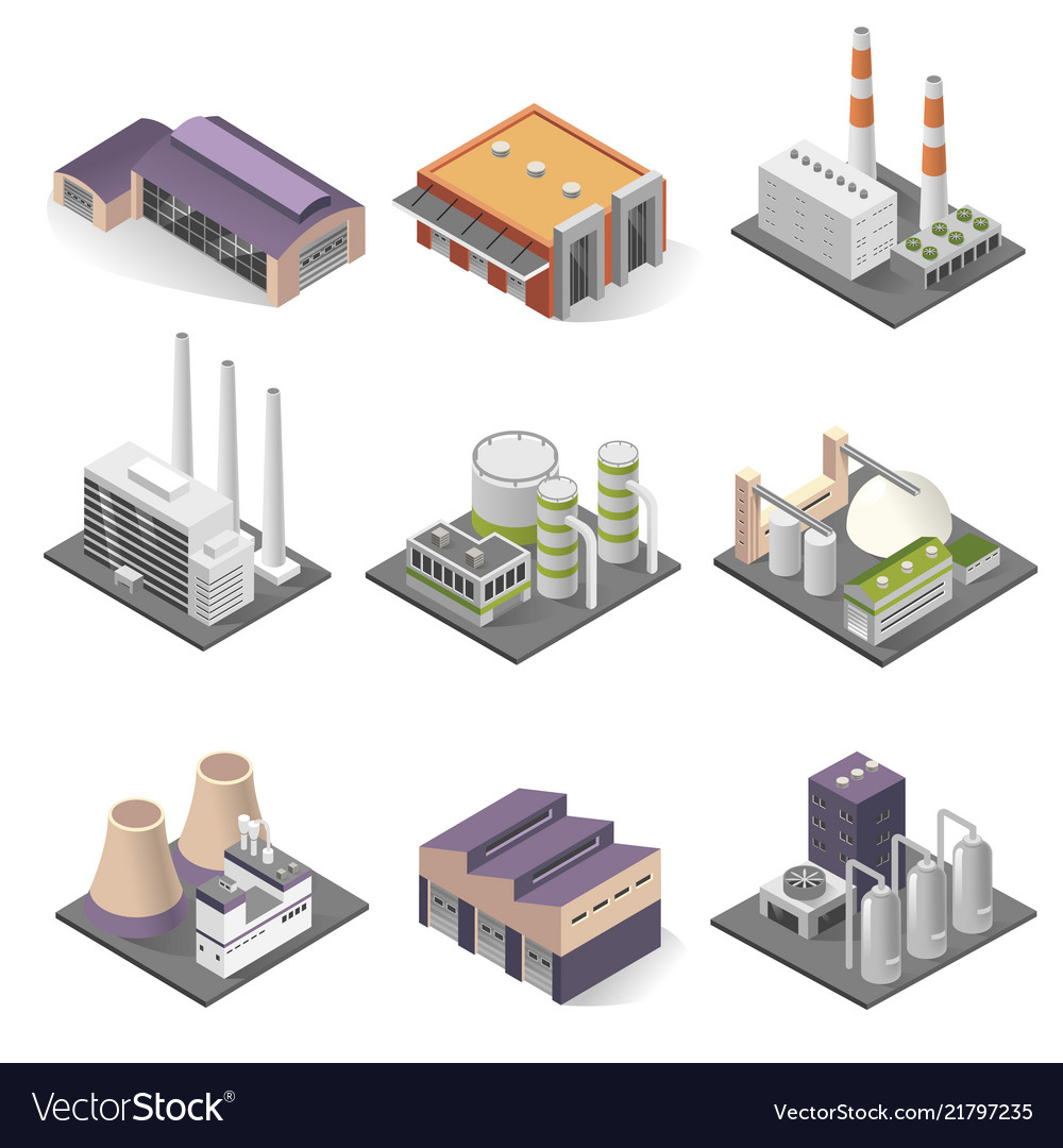 Industrial building and factory architecture
