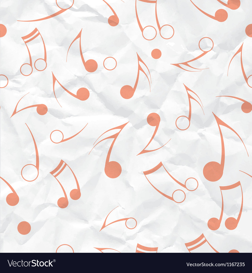 Music note paper texture