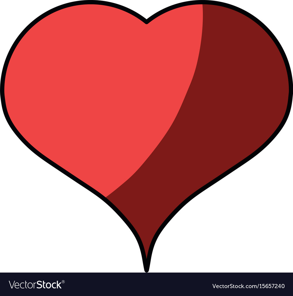 Heart Medical Symbol Royalty Free Vector Image