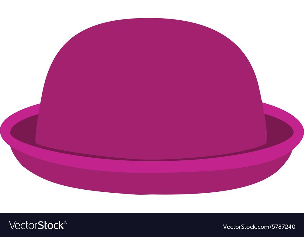 cb9007d49bd Pink hat Royalty Free Vector Image - VectorStock