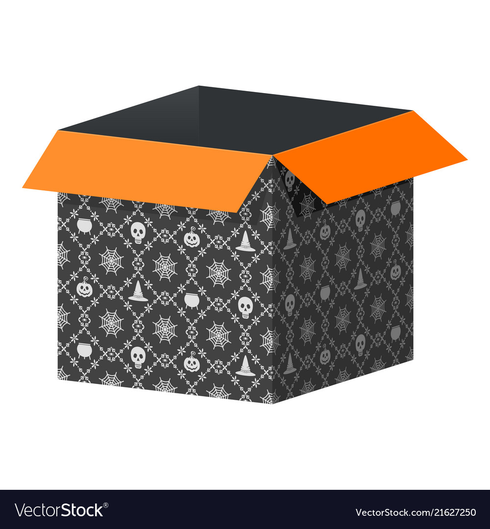 Halloween Box Template The Never Ending Story