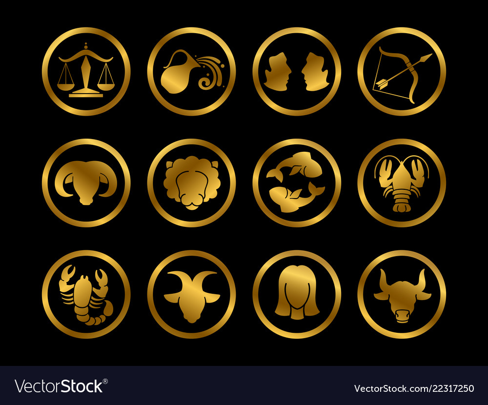 Golden horoscope zodiac signs astrology