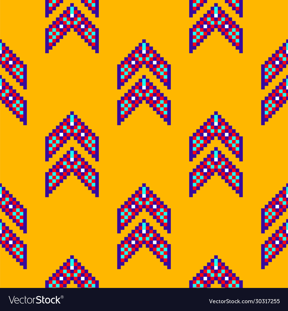 Abstract mexican ethnic seamless pattern tribal