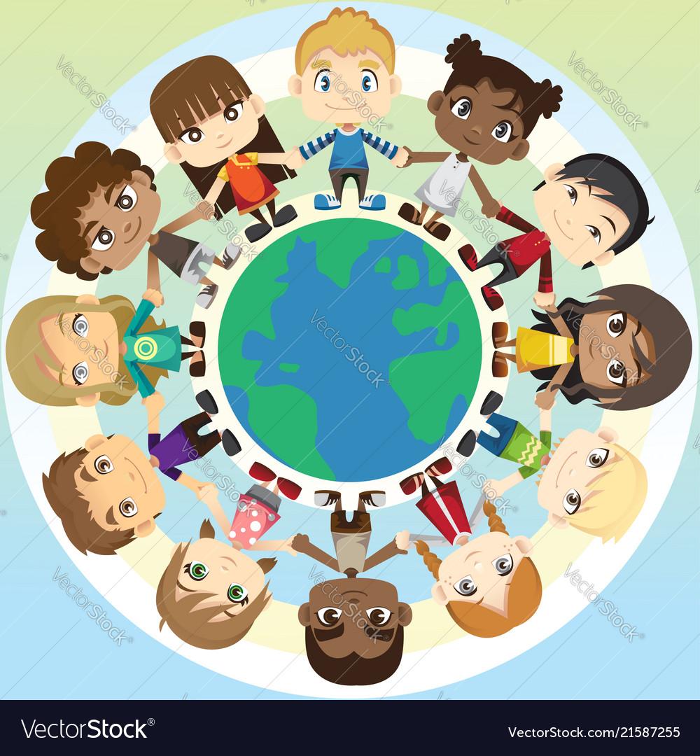 Children in unity