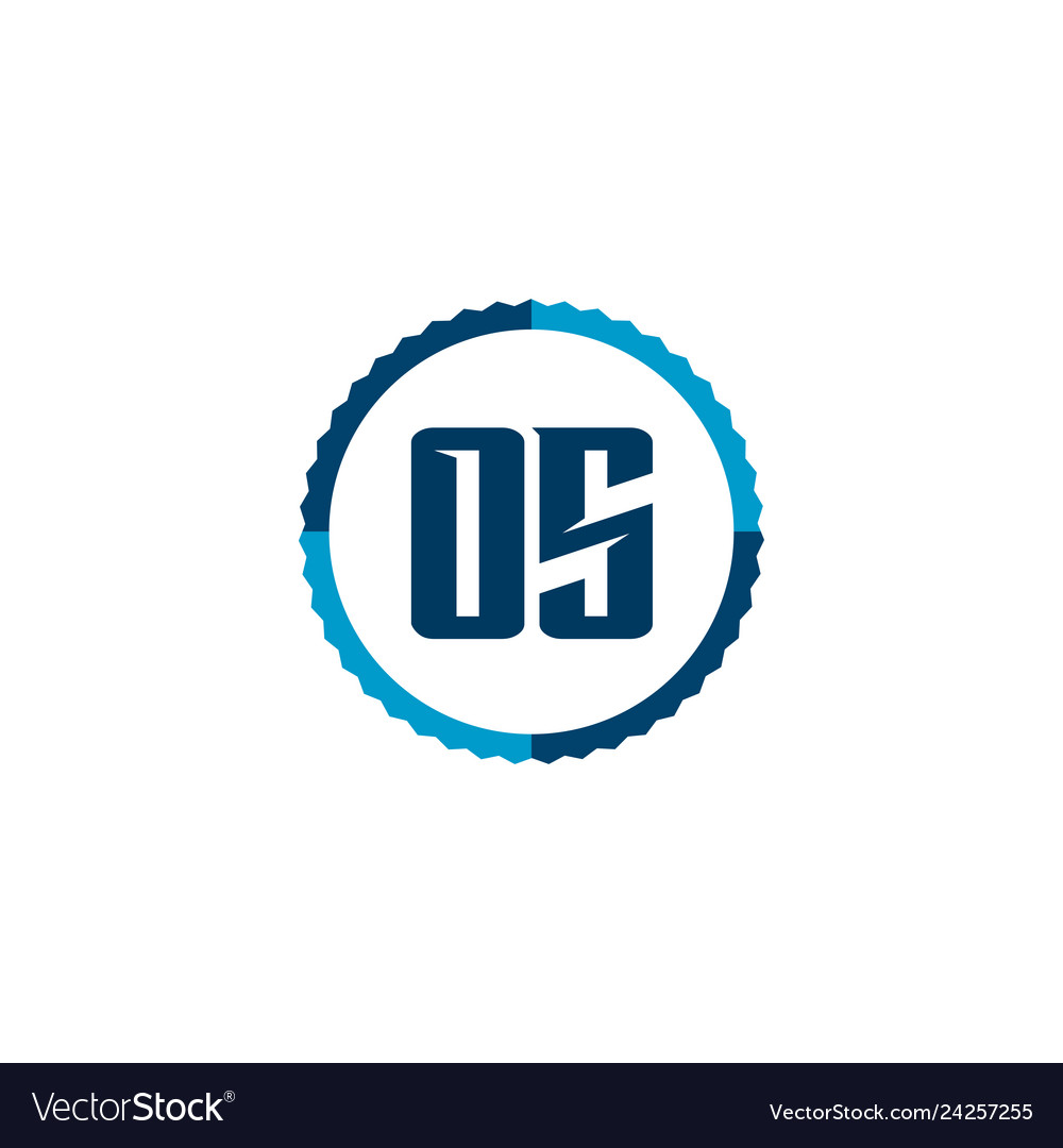 Initial letter logo os template design