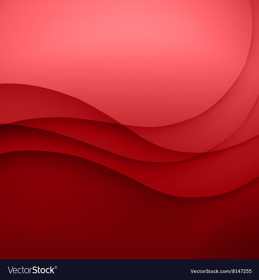 Red Template Abstract background with