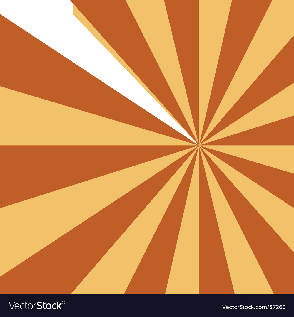 Abstract starburst design