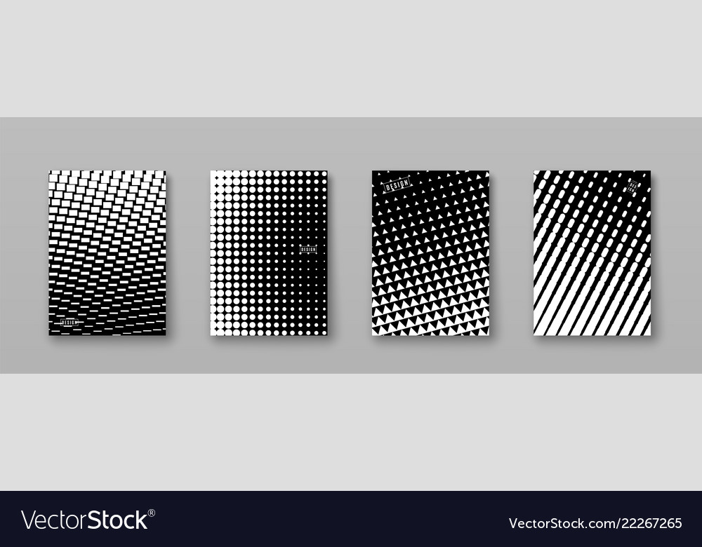 Abstract background with black white elements