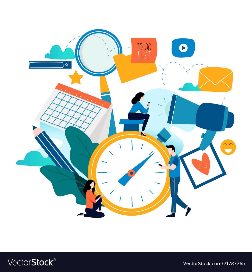 Time management planning events organization