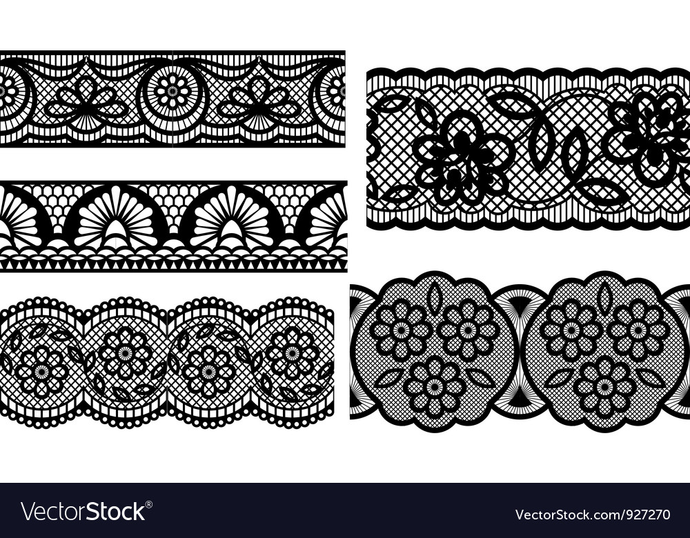 lace royalty free vector image vectorstock rh vectorstock com lace vector free download lace vector clip art free