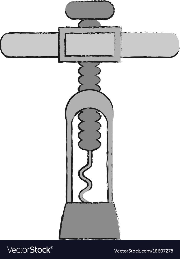Corkscrew for wine bottles