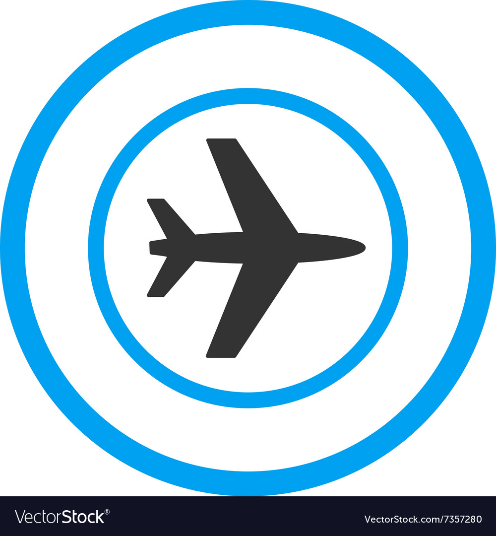 Airport Rounded Icon