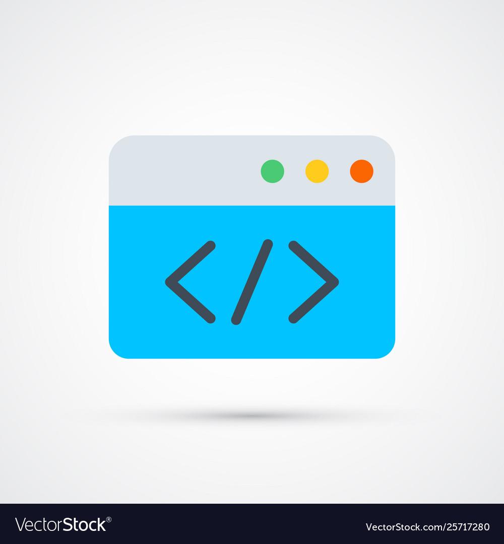 Codingtrendy symbol trendy colored