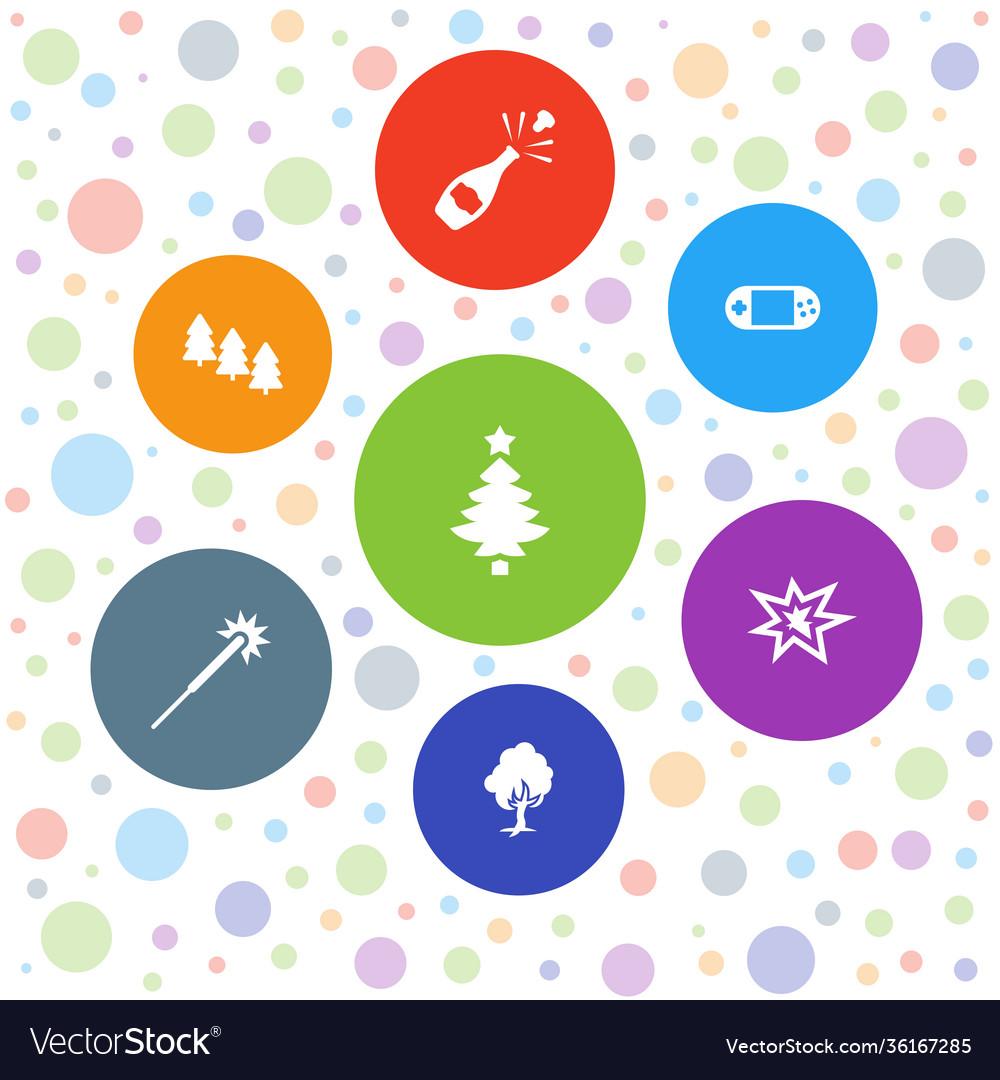 7 christmas icons