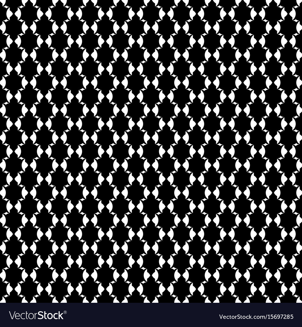 Luxury pattern royal black and white pattern