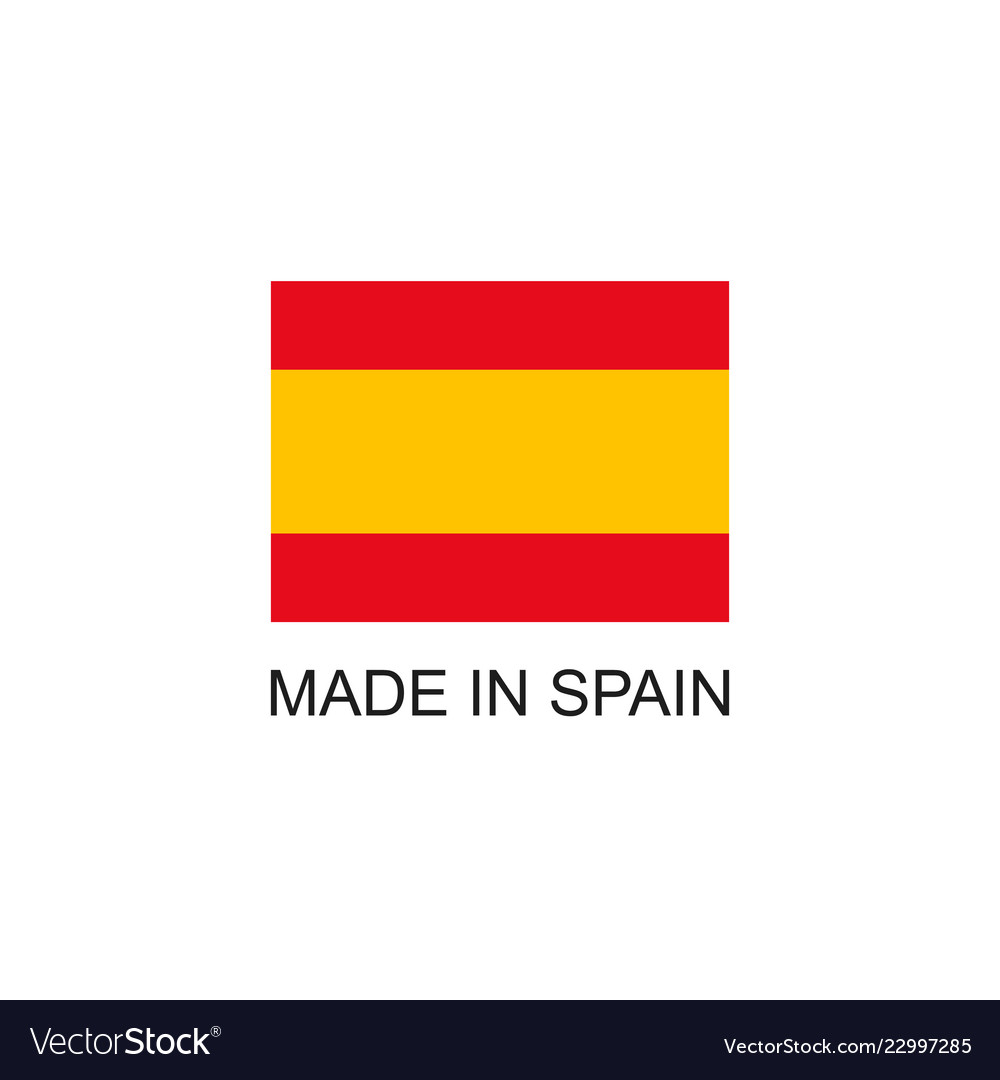 Made in spain sign