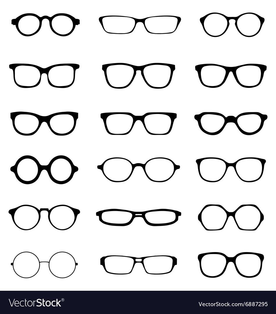 Different eyeglasses