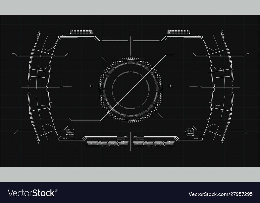 The navigation system hud interface design