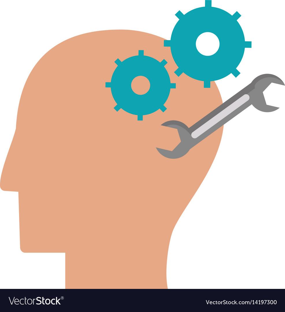 Human head gear tool engineer