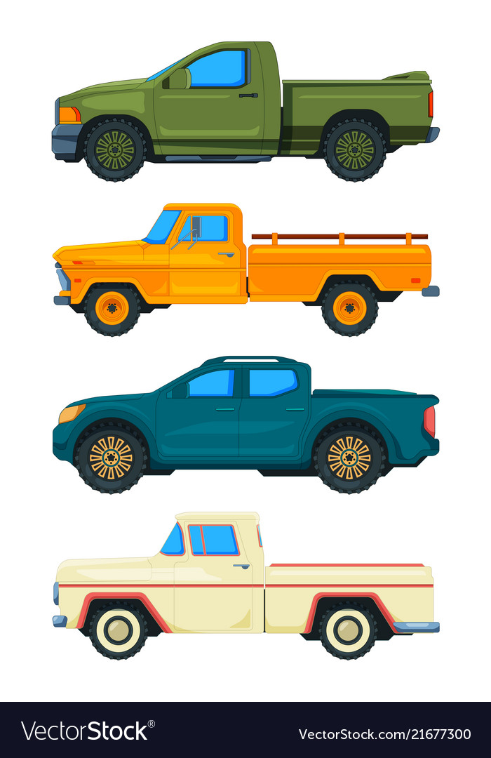 Pickup truck transport of