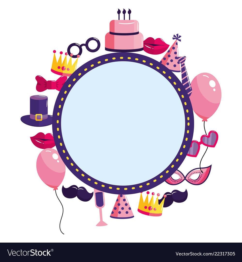 birthday frame Happy birthday frame Royalty Free Vector Image birthday frame
