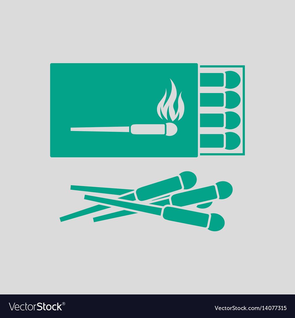 Match box icon vector image