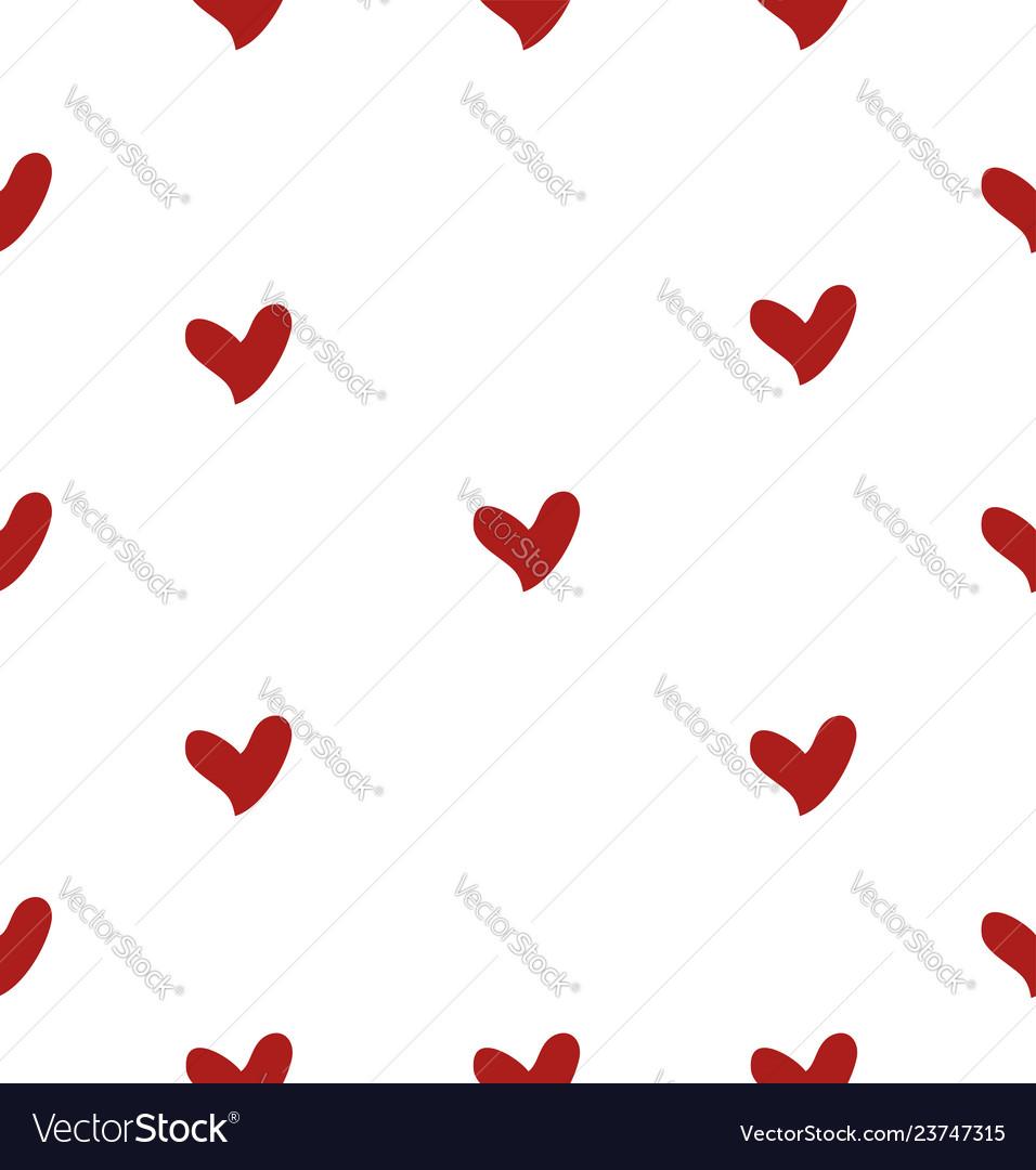 Mini heart seamless