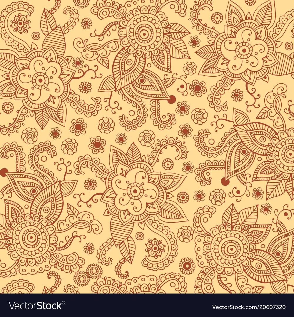 Henna mehndi patten bagkround for print design