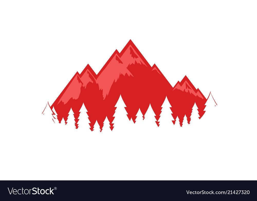 Swiss alps eps 10