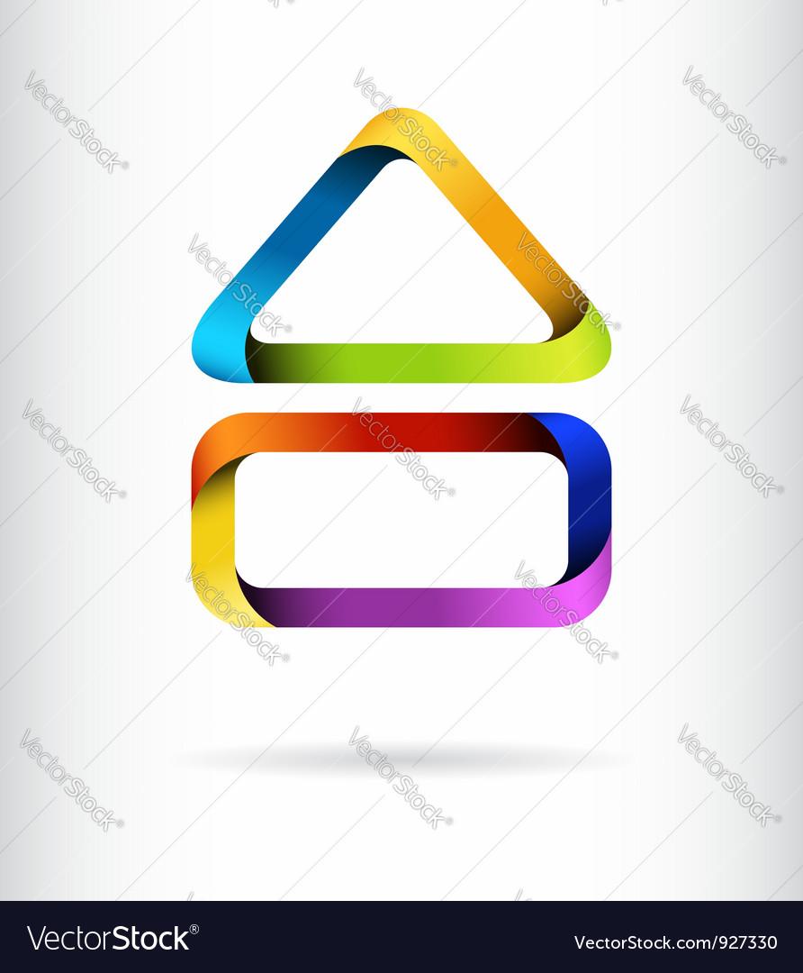 Rainbow building design concept
