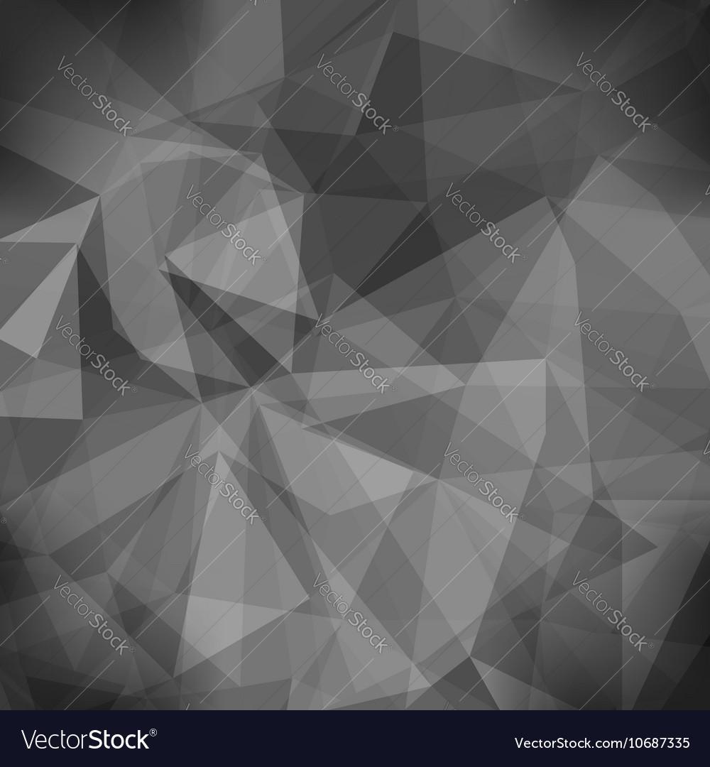 Gray Light Polygonal Mosaic Background