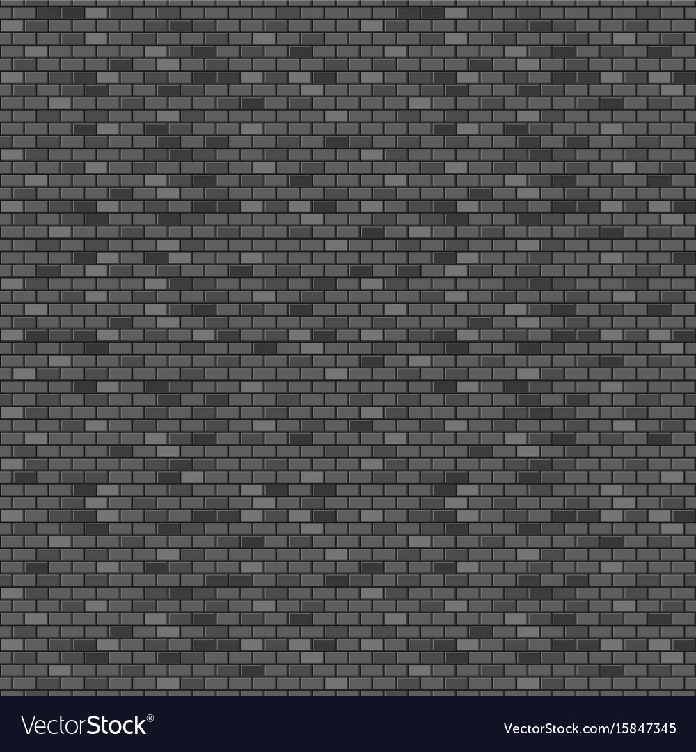 Dark brick wall seamless pattern