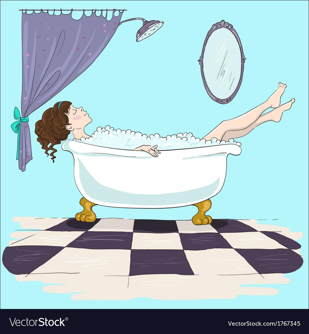 Картинки, рисунки ванн смешные