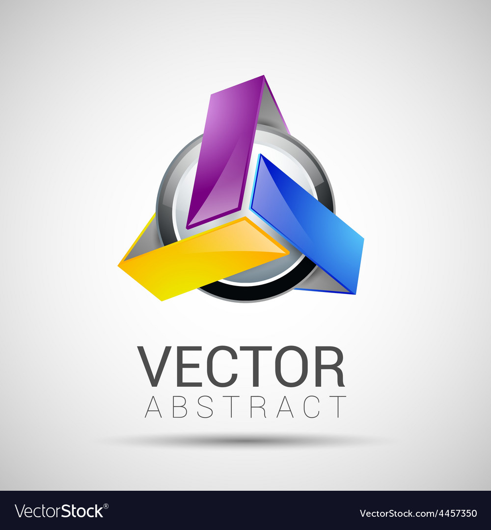 Abstract element shape design icon