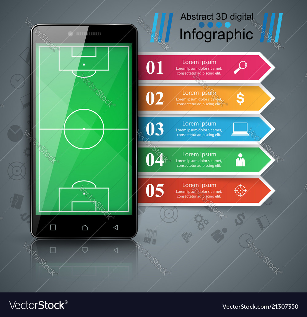 Soccer football smartphone - business