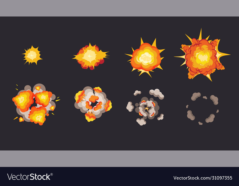 Explosion animation in storyboard energy