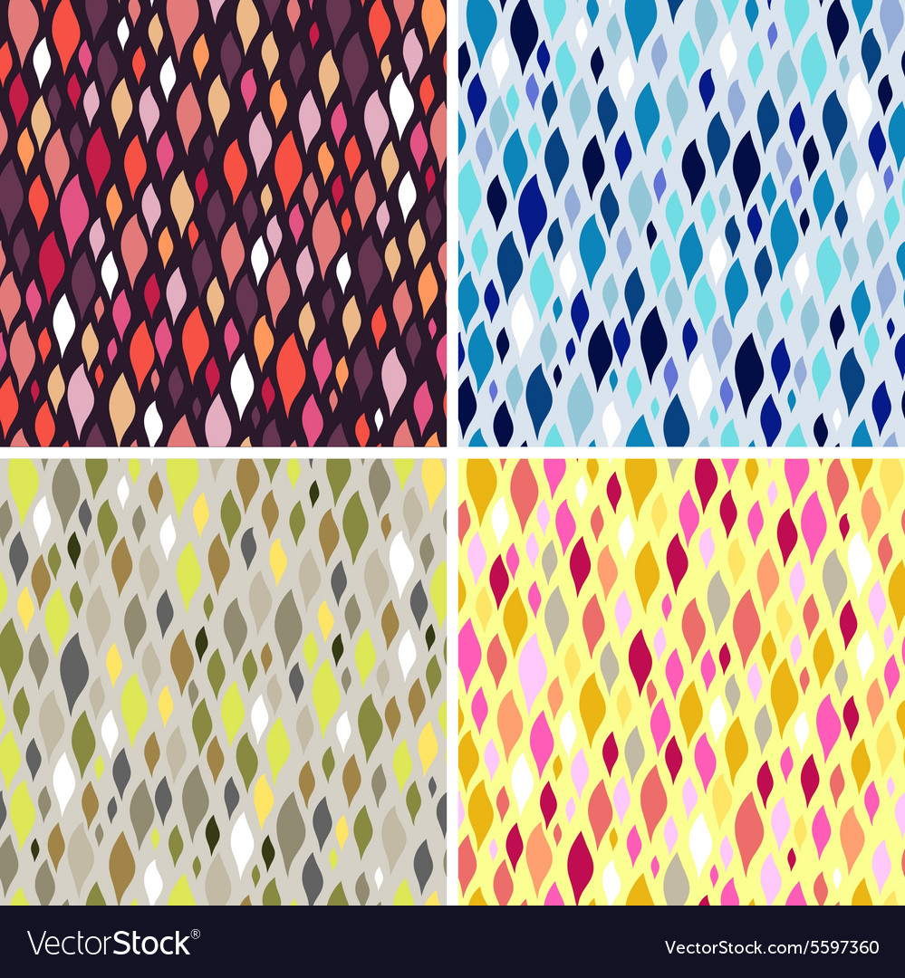 Colorful tiles abstract seamless pattern