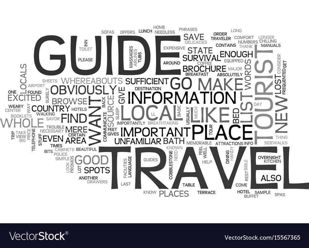 A traveler s bible text word cloud concept