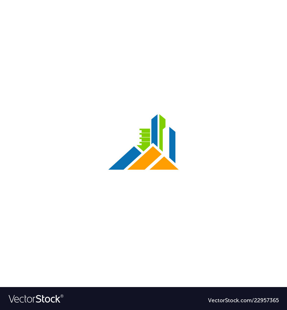 Building home cityscape company logo