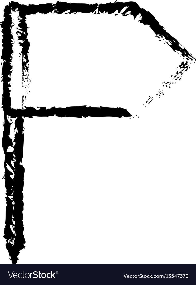 Figure white flag icon