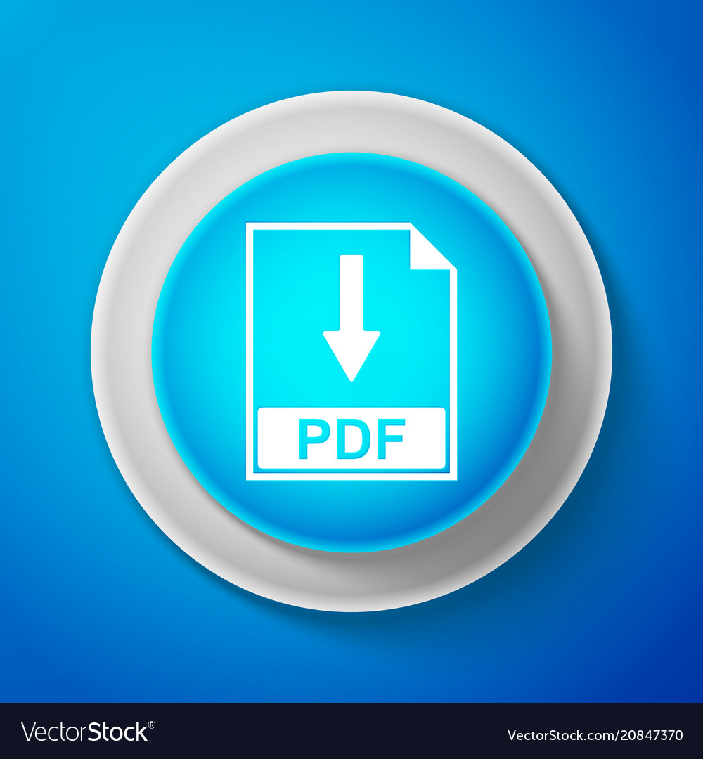 Pdf file document icon download pdf button sign