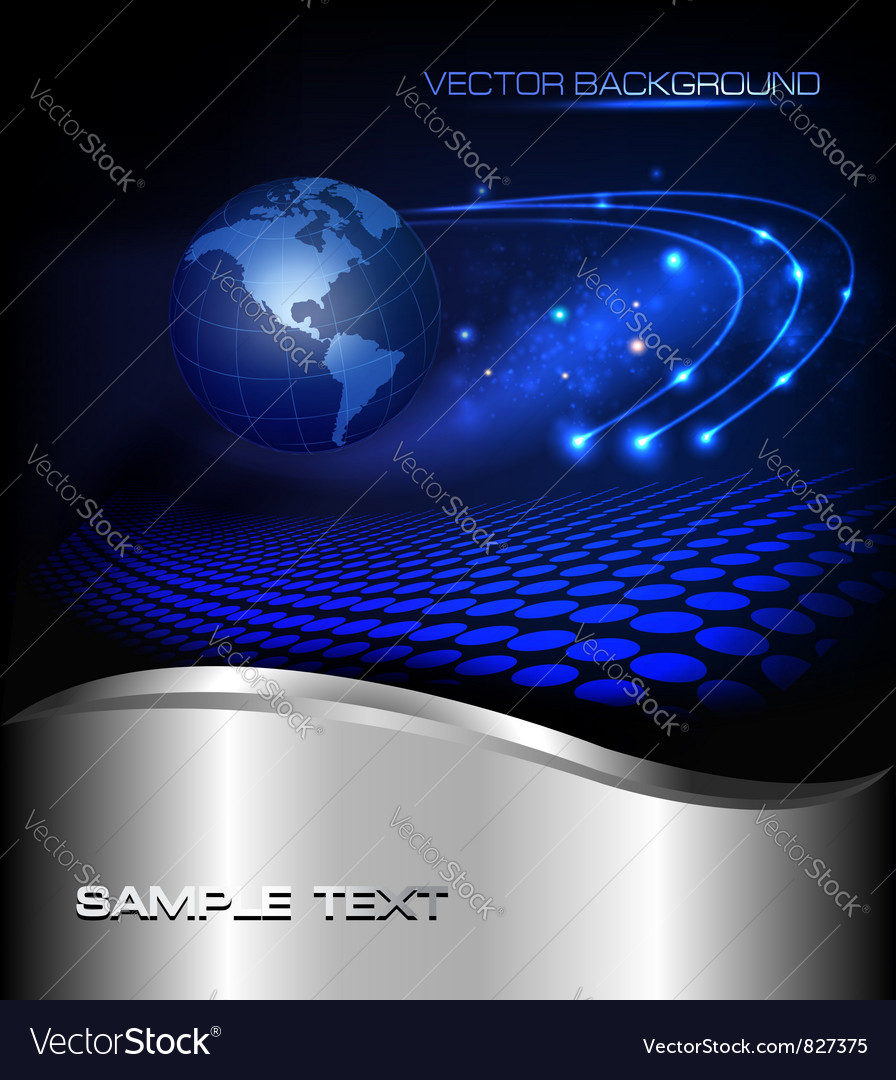 Abstract global background